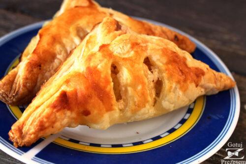 ciastka francuskie z serem