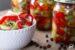 sałatka z ogórkami i papryką