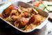 kurczak pieczony z ryżem i warzywami