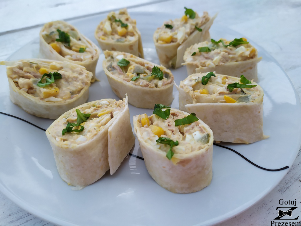 tortilla z tuńczykiem