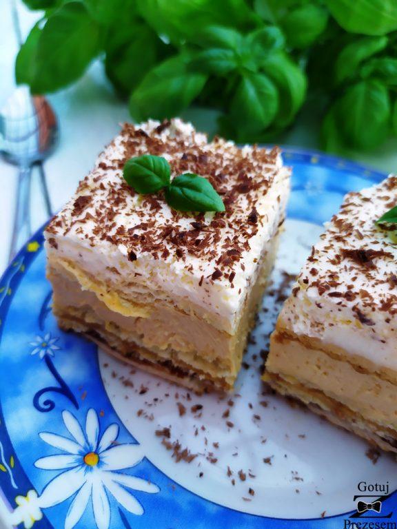 ciasto balowe bez pieczenia