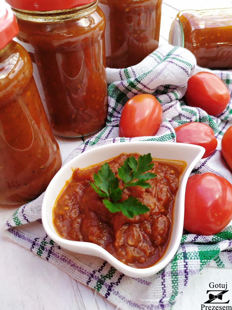sos pomidorowo - paprykowy 2