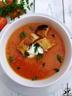 krem z pomidorów 1