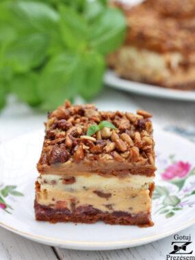 ciasto słonecznikowiec bez pieczenia
