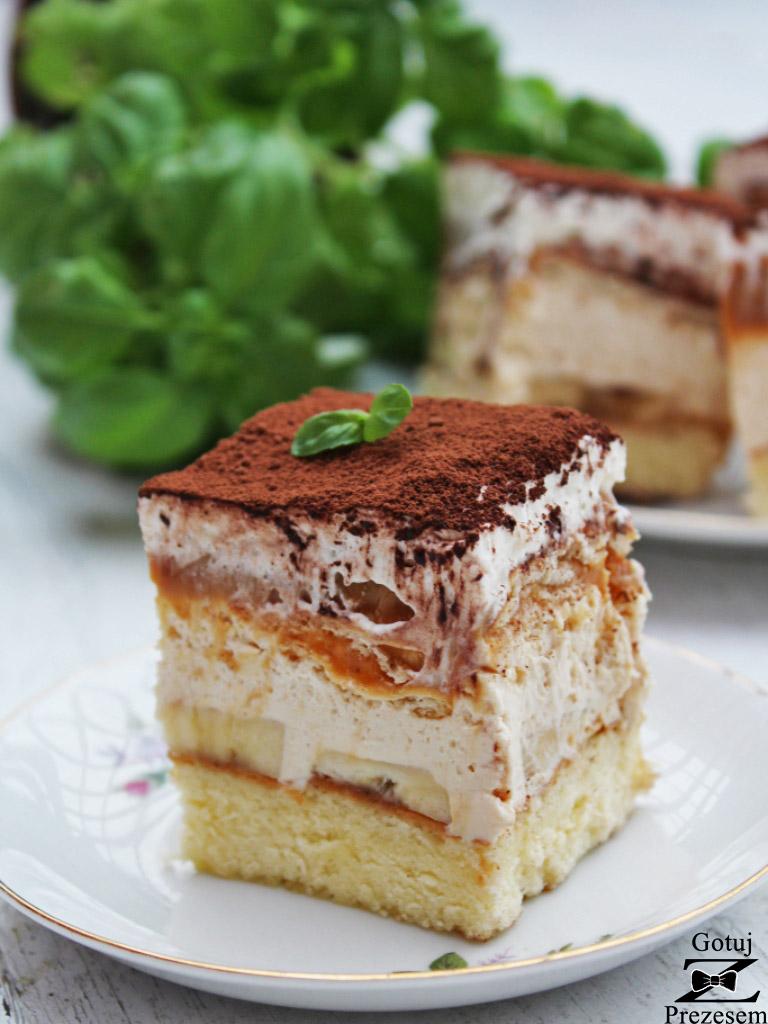 ciasto banoffee na biszkopcie 2